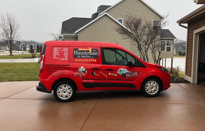 Handyman & Moore Van Picture | Holland, Michigan