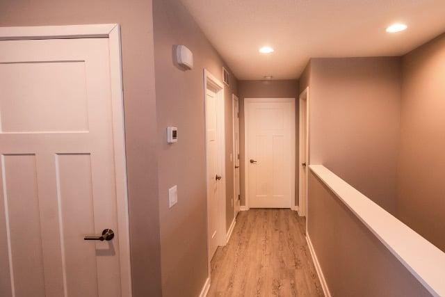Vinyl Plank Hallway Floor