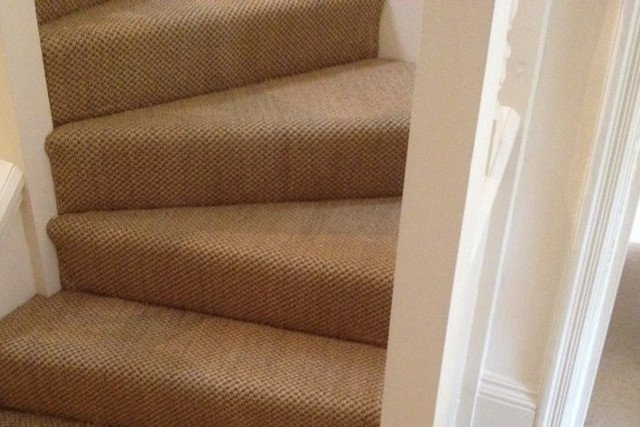 Carpeted Stair Installation