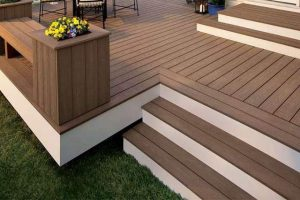 Two Tone Composite Decking