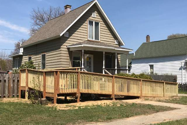 Wheelchair Ramp Construction | Holland, Michigan | Handyman & Moore