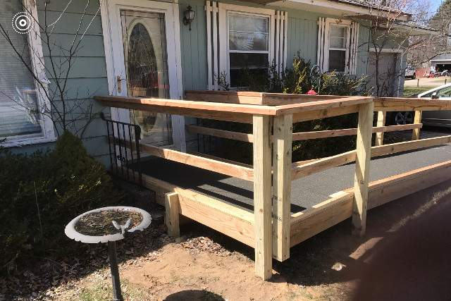 Wheelchair Ramp Installation | Holland, Michigan | Handyman & Moore